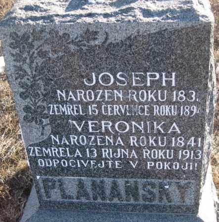 PLANANSKY, JOSEPH - Box Butte County, Nebraska | JOSEPH PLANANSKY - Nebraska Gravestone Photos