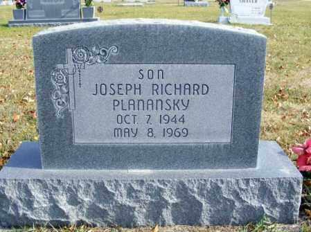 PLANANSKY, JOSEPH RICHARD - Box Butte County, Nebraska | JOSEPH RICHARD PLANANSKY - Nebraska Gravestone Photos