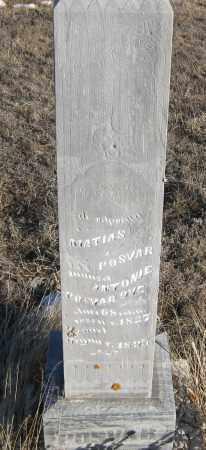 POSVAR, MATIAS - Box Butte County, Nebraska | MATIAS POSVAR - Nebraska Gravestone Photos