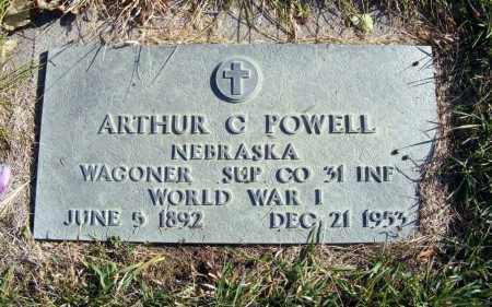 POWELL, ARTHUR C. - Box Butte County, Nebraska   ARTHUR C. POWELL - Nebraska Gravestone Photos