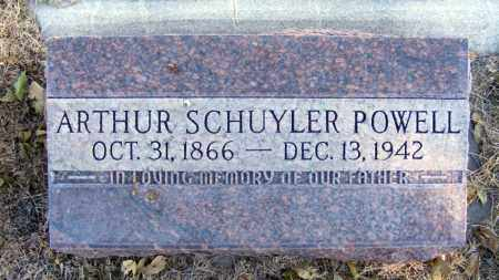 POWELL, ARTHUR SCHUYLER - Box Butte County, Nebraska | ARTHUR SCHUYLER POWELL - Nebraska Gravestone Photos