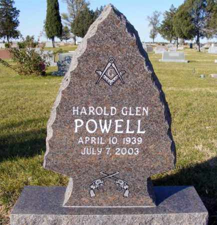 POWELL, HAROLD GLEN - Box Butte County, Nebraska | HAROLD GLEN POWELL - Nebraska Gravestone Photos