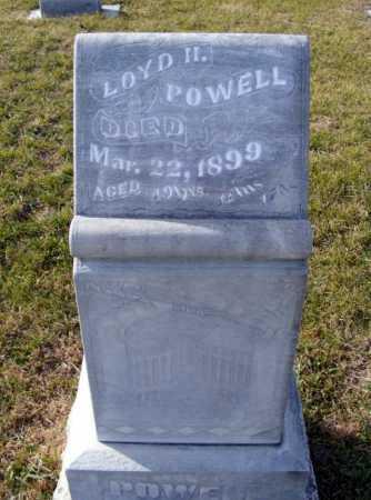 POWELL, LOYD H - Box Butte County, Nebraska   LOYD H POWELL - Nebraska Gravestone Photos