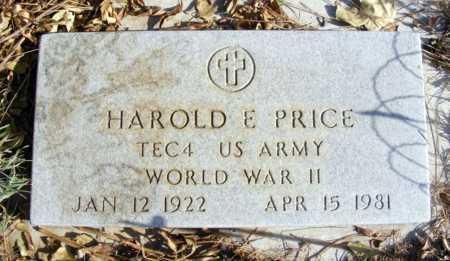 PRICE, HAROLD E. - Box Butte County, Nebraska | HAROLD E. PRICE - Nebraska Gravestone Photos