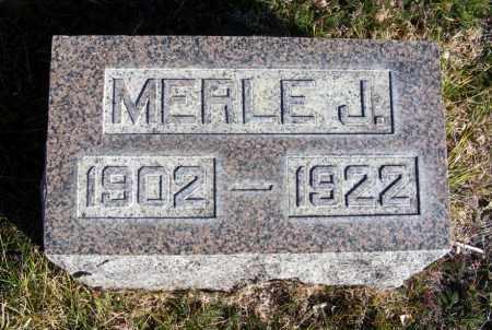 PRICE, MERLE J. - Box Butte County, Nebraska   MERLE J. PRICE - Nebraska Gravestone Photos