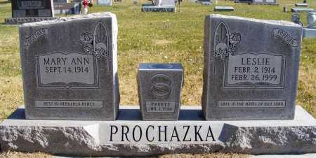 PROCHAZKA, MARY ANN - Box Butte County, Nebraska | MARY ANN PROCHAZKA - Nebraska Gravestone Photos