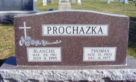 PROCHAZKA, THOMAS - Box Butte County, Nebraska | THOMAS PROCHAZKA - Nebraska Gravestone Photos
