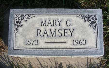 RAMSEY, MARY C. - Box Butte County, Nebraska | MARY C. RAMSEY - Nebraska Gravestone Photos