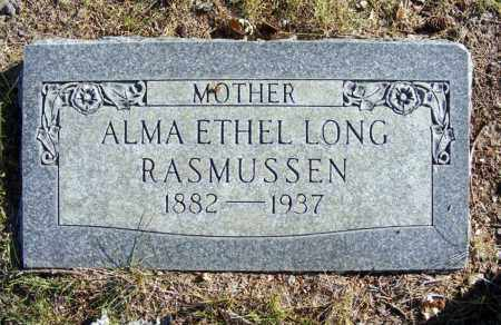 RASMUSSEN, ALMA ETHEL - Box Butte County, Nebraska | ALMA ETHEL RASMUSSEN - Nebraska Gravestone Photos