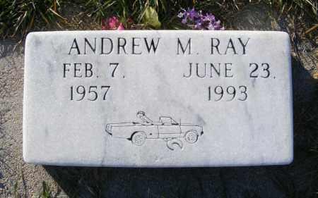 RAY, ANDREW M. - Box Butte County, Nebraska | ANDREW M. RAY - Nebraska Gravestone Photos