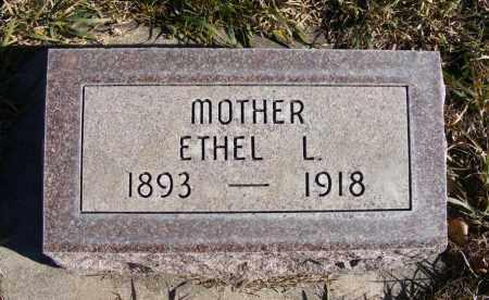 REEVES, ETHEL L. - Box Butte County, Nebraska | ETHEL L. REEVES - Nebraska Gravestone Photos