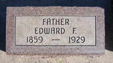 REEVES, EDWARD F. - Box Butte County, Nebraska | EDWARD F. REEVES - Nebraska Gravestone Photos