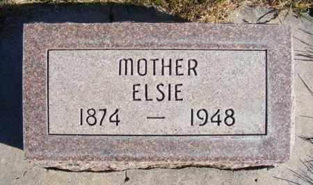 REEVES, ELSIE - Box Butte County, Nebraska | ELSIE REEVES - Nebraska Gravestone Photos