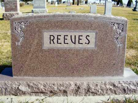 REEVES, FAMILY - Box Butte County, Nebraska | FAMILY REEVES - Nebraska Gravestone Photos