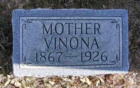 REID, VINONA - Box Butte County, Nebraska | VINONA REID - Nebraska Gravestone Photos