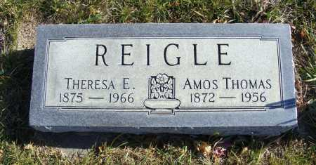 ANDING REIGLE, THERESA E. - Box Butte County, Nebraska | THERESA E. ANDING REIGLE - Nebraska Gravestone Photos