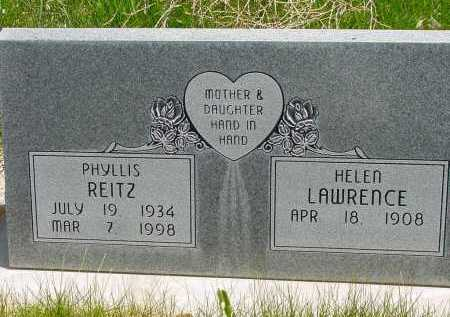 LAWRENCE, HELEN - Box Butte County, Nebraska | HELEN LAWRENCE - Nebraska Gravestone Photos
