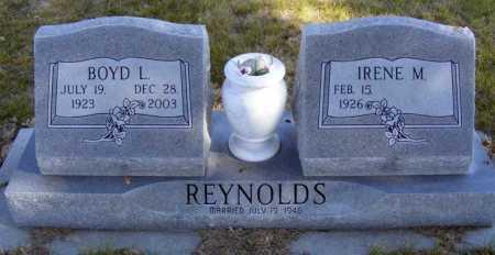 REYNOLDS, BOYD L. - Box Butte County, Nebraska | BOYD L. REYNOLDS - Nebraska Gravestone Photos