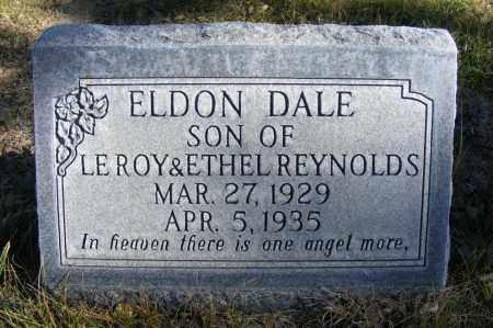 REYNOLDS, ELDON DALE - Box Butte County, Nebraska | ELDON DALE REYNOLDS - Nebraska Gravestone Photos