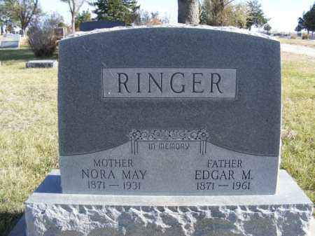 RINGER, NORA MAY - Box Butte County, Nebraska | NORA MAY RINGER - Nebraska Gravestone Photos