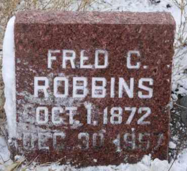 ROBBINS, FRED C. - Box Butte County, Nebraska | FRED C. ROBBINS - Nebraska Gravestone Photos