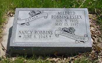 ROBBINS ESSEX, MILDRED - Box Butte County, Nebraska   MILDRED ROBBINS ESSEX - Nebraska Gravestone Photos