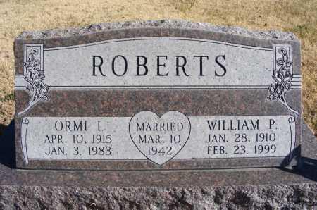 ROBERTS, WILLIAM P. - Box Butte County, Nebraska | WILLIAM P. ROBERTS - Nebraska Gravestone Photos