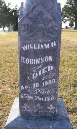 ROBINSON, WILLIAM H. - Box Butte County, Nebraska | WILLIAM H. ROBINSON - Nebraska Gravestone Photos