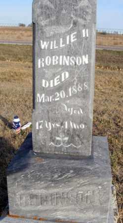 ROBINSON, WILLIE - Box Butte County, Nebraska | WILLIE ROBINSON - Nebraska Gravestone Photos