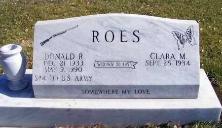 ROES, DONALD R. - Box Butte County, Nebraska | DONALD R. ROES - Nebraska Gravestone Photos