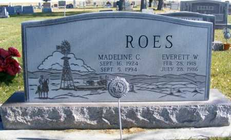 ROES, EVERETT W. - Box Butte County, Nebraska | EVERETT W. ROES - Nebraska Gravestone Photos