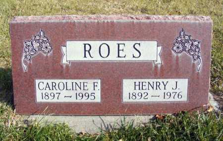 ROES, CAROLINE F. - Box Butte County, Nebraska   CAROLINE F. ROES - Nebraska Gravestone Photos