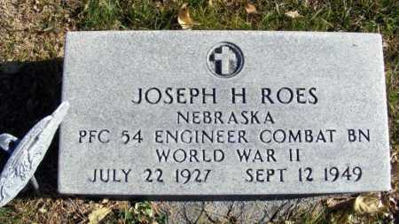 ROES, JOSEPH H. - Box Butte County, Nebraska | JOSEPH H. ROES - Nebraska Gravestone Photos