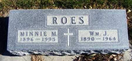 ROES, MINNIE M. - Box Butte County, Nebraska | MINNIE M. ROES - Nebraska Gravestone Photos
