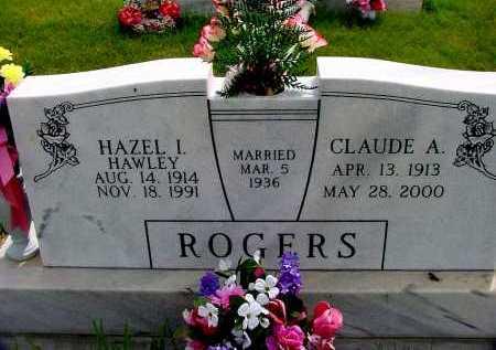 HAWLEY ROGERS, HAZEL I. - Box Butte County, Nebraska | HAZEL I. HAWLEY ROGERS - Nebraska Gravestone Photos