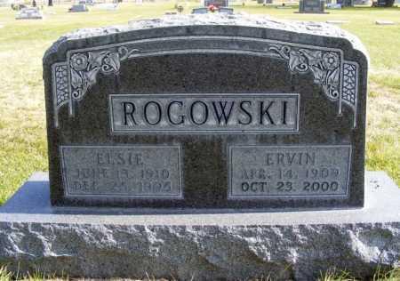 ROGOWSKI, ELSIE - Box Butte County, Nebraska | ELSIE ROGOWSKI - Nebraska Gravestone Photos