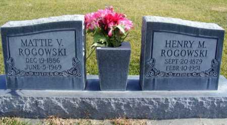 ROGOWSKI, MATTIE V. - Box Butte County, Nebraska | MATTIE V. ROGOWSKI - Nebraska Gravestone Photos