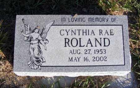 ROLAND, CYNTHIA RAE - Box Butte County, Nebraska | CYNTHIA RAE ROLAND - Nebraska Gravestone Photos