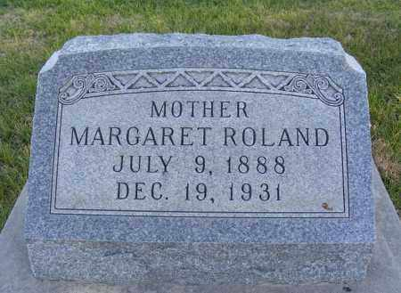 ROLAND, MARGARET - Box Butte County, Nebraska | MARGARET ROLAND - Nebraska Gravestone Photos