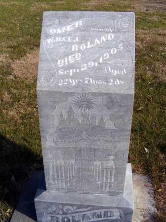 ROLAND, OMER - Box Butte County, Nebraska | OMER ROLAND - Nebraska Gravestone Photos