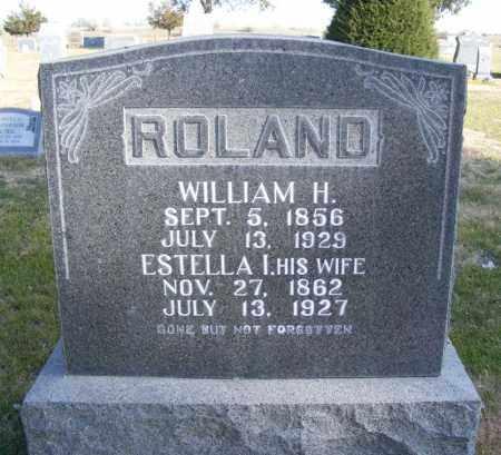 ROLAND, ESTELLA I. - Box Butte County, Nebraska | ESTELLA I. ROLAND - Nebraska Gravestone Photos