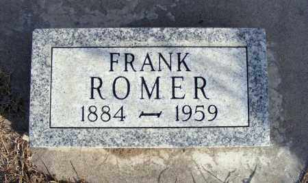 ROMER, FRANK - Box Butte County, Nebraska | FRANK ROMER - Nebraska Gravestone Photos