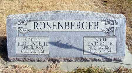 ROSENBERGER, EARNEST E. - Box Butte County, Nebraska | EARNEST E. ROSENBERGER - Nebraska Gravestone Photos