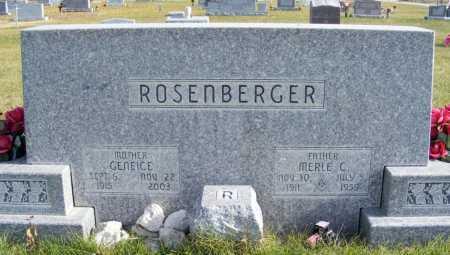 ROSENBERGER, GENEICE - Box Butte County, Nebraska | GENEICE ROSENBERGER - Nebraska Gravestone Photos