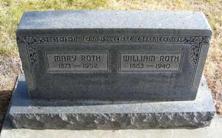 ROTH, WILLIAM - Box Butte County, Nebraska | WILLIAM ROTH - Nebraska Gravestone Photos