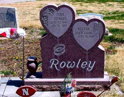 ADAMS ROWLEY, BRENDA JOAN - Box Butte County, Nebraska | BRENDA JOAN ADAMS ROWLEY - Nebraska Gravestone Photos