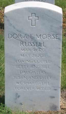 MORSE RUSSEL, DORA E. - Box Butte County, Nebraska | DORA E. MORSE RUSSEL - Nebraska Gravestone Photos