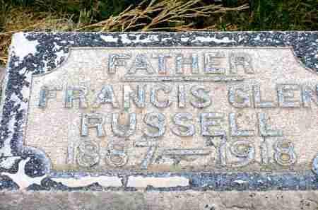 RUSSELL, FRANCIS GLEN - Box Butte County, Nebraska | FRANCIS GLEN RUSSELL - Nebraska Gravestone Photos