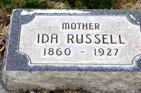 RUSSELL, IDA - Box Butte County, Nebraska | IDA RUSSELL - Nebraska Gravestone Photos