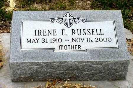 RUSSELL, IRENE E. - Box Butte County, Nebraska | IRENE E. RUSSELL - Nebraska Gravestone Photos